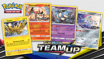 Try New Cards with Friends at a Sun & Moon—Team Up Prerelease!