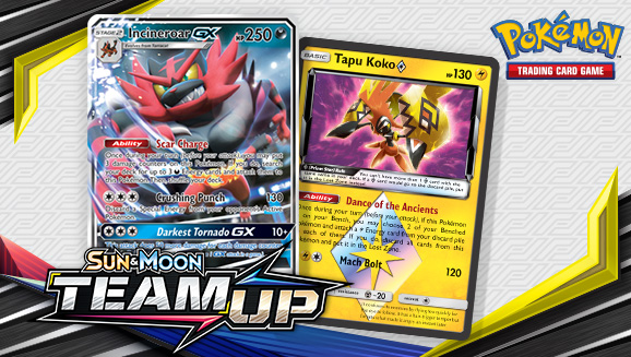 Beyond the TAG TEAM cards in <em>Sun & Moon—Team Up</em>