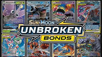 Browse the Cards of Sun & Moon—Unbroken Bonds!