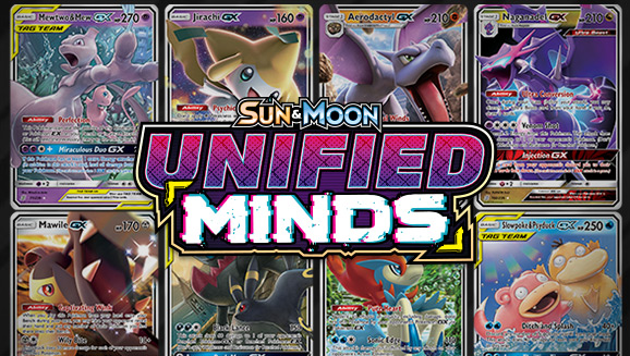 Browse the Cards of  Sun & Moon—Unified Minds!