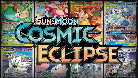 Browse the Cards of Sun & Moon—Cosmic Eclipse!