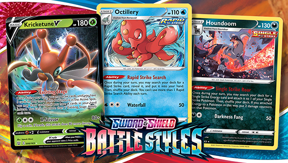 Discover Standout Cards from Sword & Shield—Battle Styles
