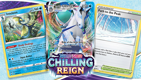 Pokémon TCG Deck Tips: Take the Throne with Ice Rider Calyrex VMAX and Inteleon