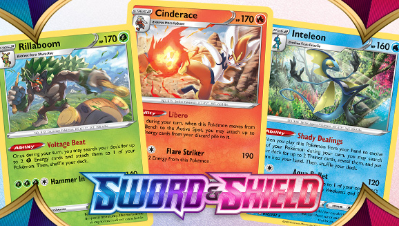 Pokémon from Galar Line Up for Pokémon TCG Action