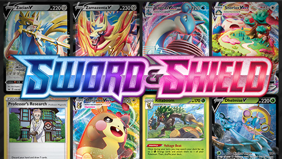 Browse the Cards of Sword & Shield!