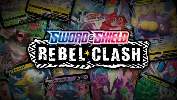Browse the Cards of<br /><em>Sword & Shield—Rebel Clash</em>!