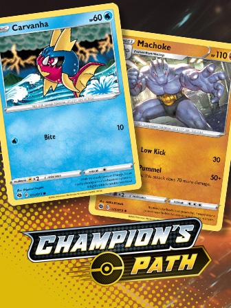 Pokémon TCG: Champion's Path Art