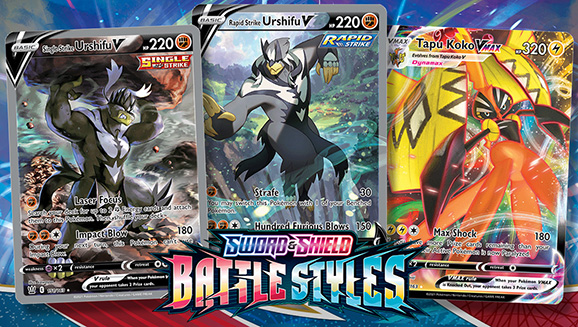 These Sword & Shield—Battle Styles Cards Hit Hard