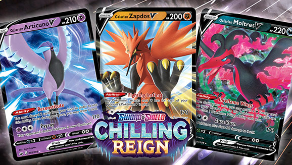 See Legendary and Mythical Pokémon from Sword & Shield—Chilling Reign