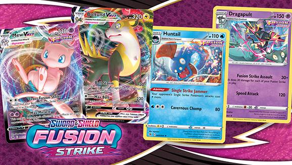 Pokémon TCG: Sword & Shield—Fusion Strike Packs a Punch