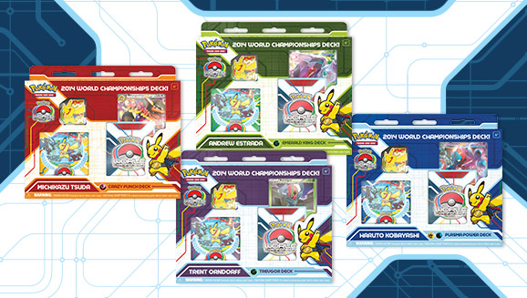 Pokémon TCG: 2014 World Championships Decks