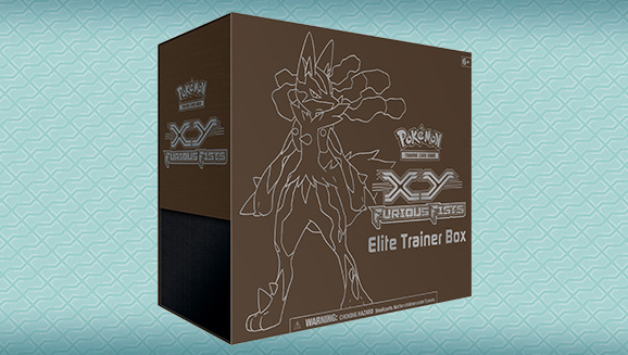 Pokémon TCG: <em>XY—Furious Fists</em> Elite Trainer Box