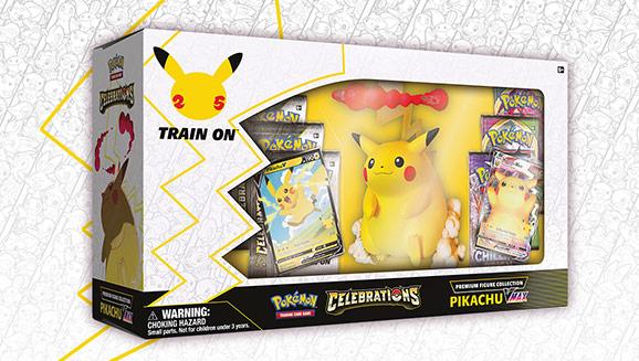 <em>Celebrations</em> Premium Figure Collection—Pikachu VMAX