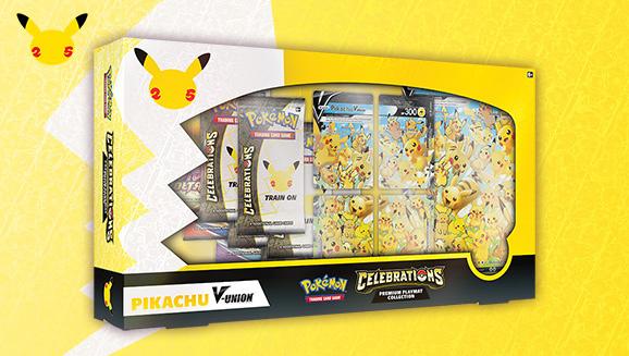 <em>Celebrations</em> Special Collection—Pikachu V-UNION