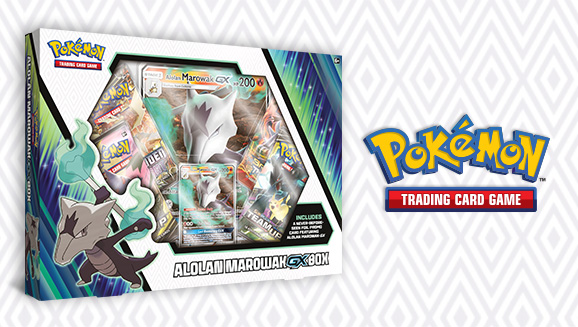 Pokémon TCG: Alolan Marowak-<em>GX</em> Box