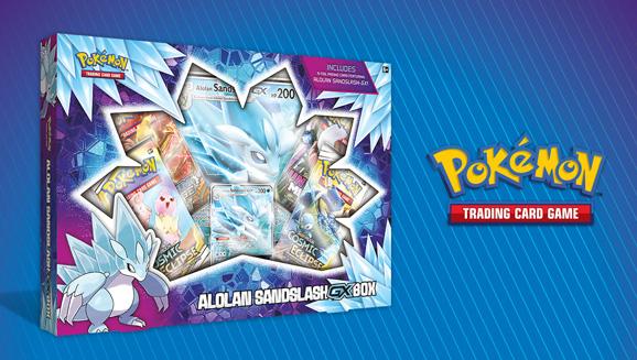 Pokémon TCG: Alolan Sandslash-<em>GX</em> Box