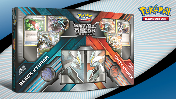 Pokémon TCG Battle Arena Decks: Black Kyurem vs. White Kyurem