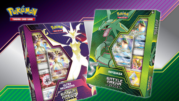 Pokémon TCG: Battle Arena Decks—Rayquaza-<em>GX</em> vs. Ultra Necrozma-<em>GX</em>