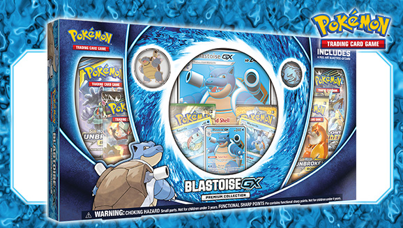 Pokémon TCG: Blastoise-<em>GX</em> Premium Collection