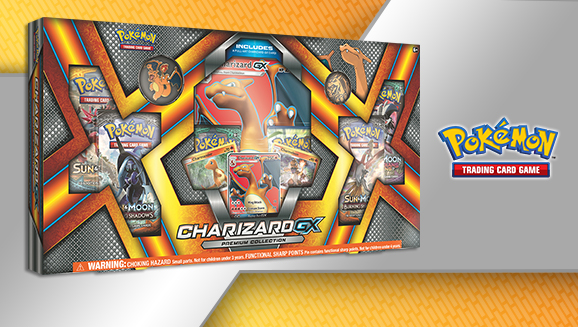 Pokémon TCG: Charizard-<em>GX</em> Premium Collection