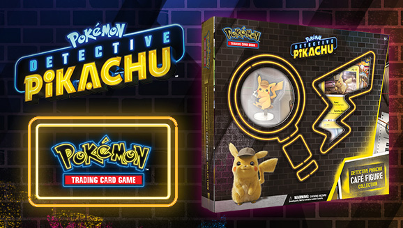 Pokémon TCG: <em>Detective Pikachu</em> Café Figure Collection