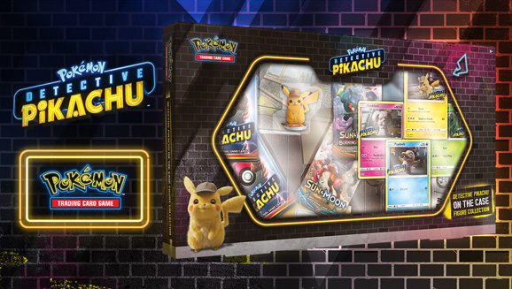 Pokémon TCG: <em>Detective Pikachu</em> On the Case Figure Collection