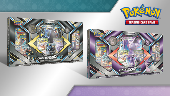 Pokémon TCG: Espeon-<em>GX</em> and Umbreon-<em>GX</em> Premium Collections