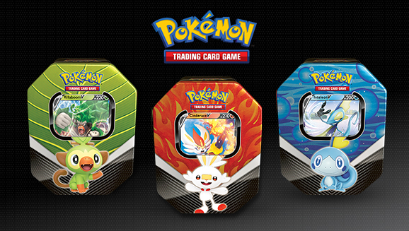Pokémon TCG: Galar Partners Tin