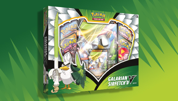 Pokémon TCG: Galarian Sirfetch'd V Box