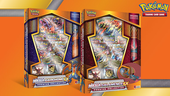Pokémon TCG: Mega Garchomp-<em>EX</em> and Mega Salamence-<em>EX</em> Premium Collections