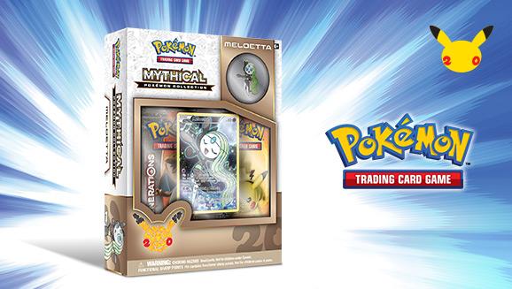 Pokémon TCG: Mythical Pokémon Collection–Meloetta