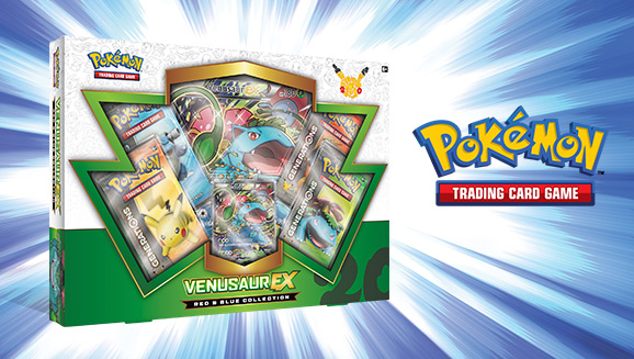 Pokémon TCG: Red & Blue Collection—Venusaur-<em>EX</em>