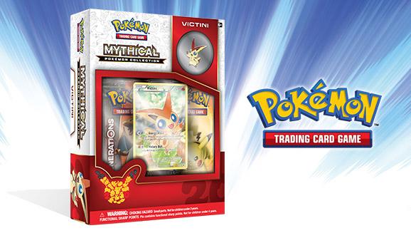Pokémon TCG: Mythical Pokémon Collection—Victini