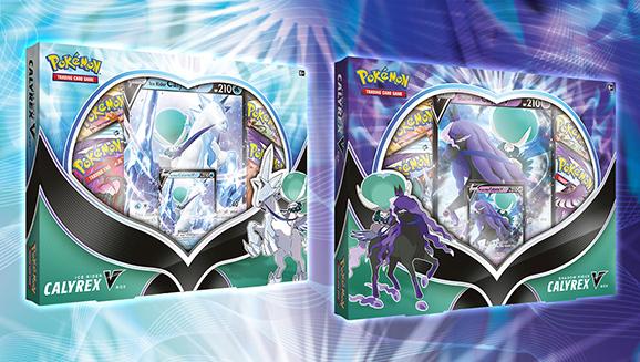 Ice Rider Calyrex V Box and Shadow Rider Calyrex V Box