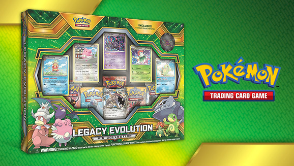 Pokémon TCG: Legacy Evolution Pin Collection