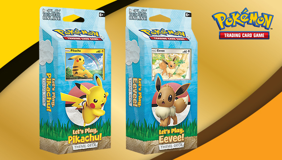 Pokémon TCG: Let's Play, Pikachu! and Let's Play, Eevee! Theme Decks