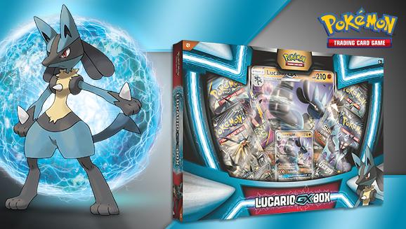 Pokémon TCG: Lucario-<em>GX</em> Box
