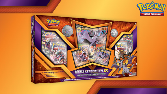 Pokémon TCG: Mega Aerodactyl-<em>EX</em> Premium Collection