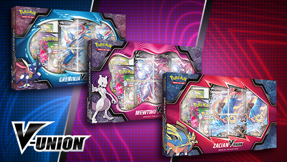 Pokémon V-UNION Special Collection (Mewtwo/Greninja/Zacian)