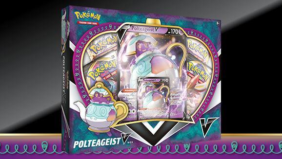 Pokémon TCG: Polteageist V Box
