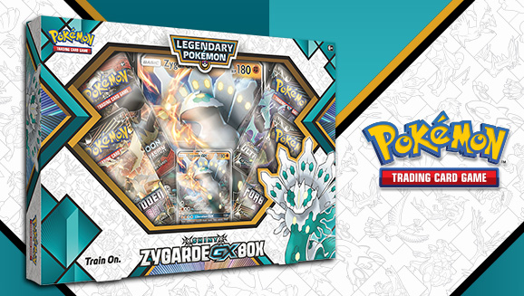 Pokémon TCG: Shiny Zygarde-<em>GX</em> Box