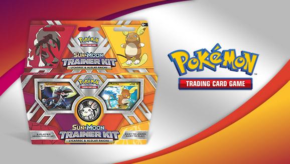 Pokémon TCG: <em>Sun & Moon</em> Trainer Kit—Lycanroc & Alolan Raichu