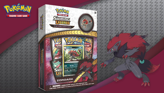 Pokémon TCG: <em>Shining Legends</em> Pin Collection—Zoroark