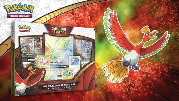 Pokémon TCG: <em>Shining Legends</em> Premium Powers Collection