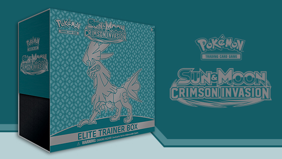 Pokémon TCG: <em>Sun & Moon—Crimson Invasion</em> Elite Trainer Box