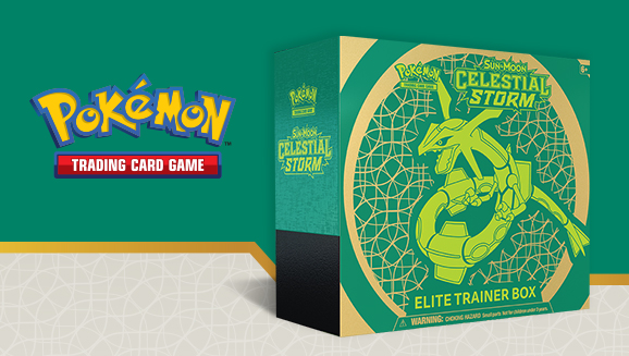 Pokémon TCG: <em>Sun & Moon—Celestial Storm</em> Elite Trainer Box