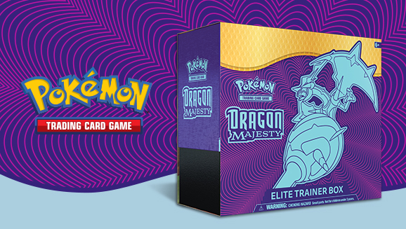 Dominate with the <em>Dragon Majesty</em> Elite Trainer Box