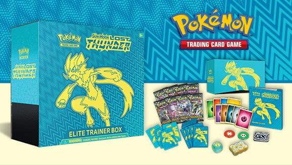 Pokémon TCG: <em>Sun & Moon—Lost Thunder</em> Elite Trainer Box