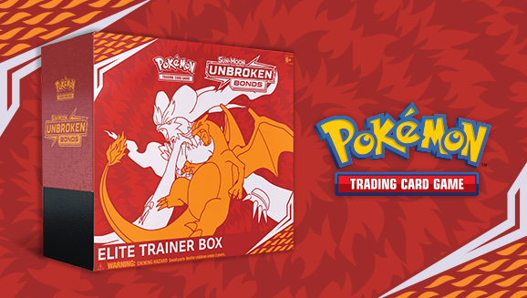 Pokémon TCG: <em>Sun & Moon—Unbroken Bonds</em> Elite Trainer Box