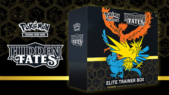 Pokémon TCG: <em>Hidden Fates</em> Elite Trainer Box